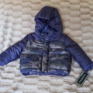 Rothschild 12 months Camo Puffer Jacket
